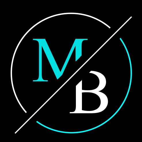Logo fond noir Michael Bonvoisin v2
